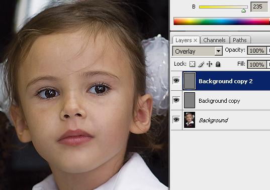 увеличение резкости фотографии