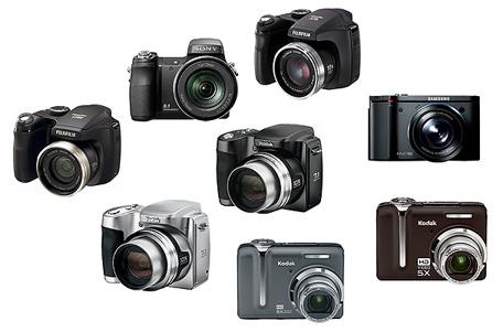 виды цифровых фотоаппаратов