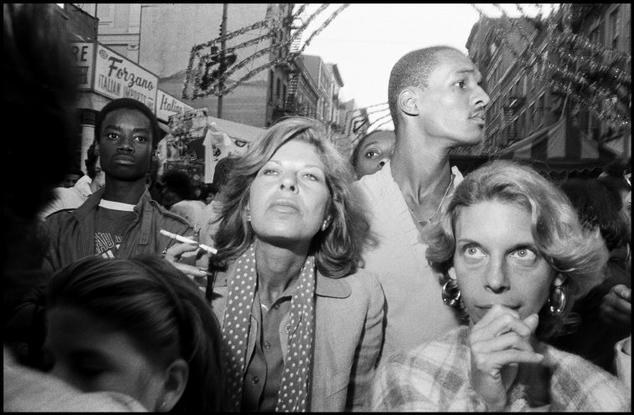 USA. New York City. 1984. Feast of San Gennero, Little Italy.