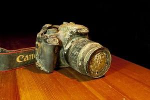 камера под водой